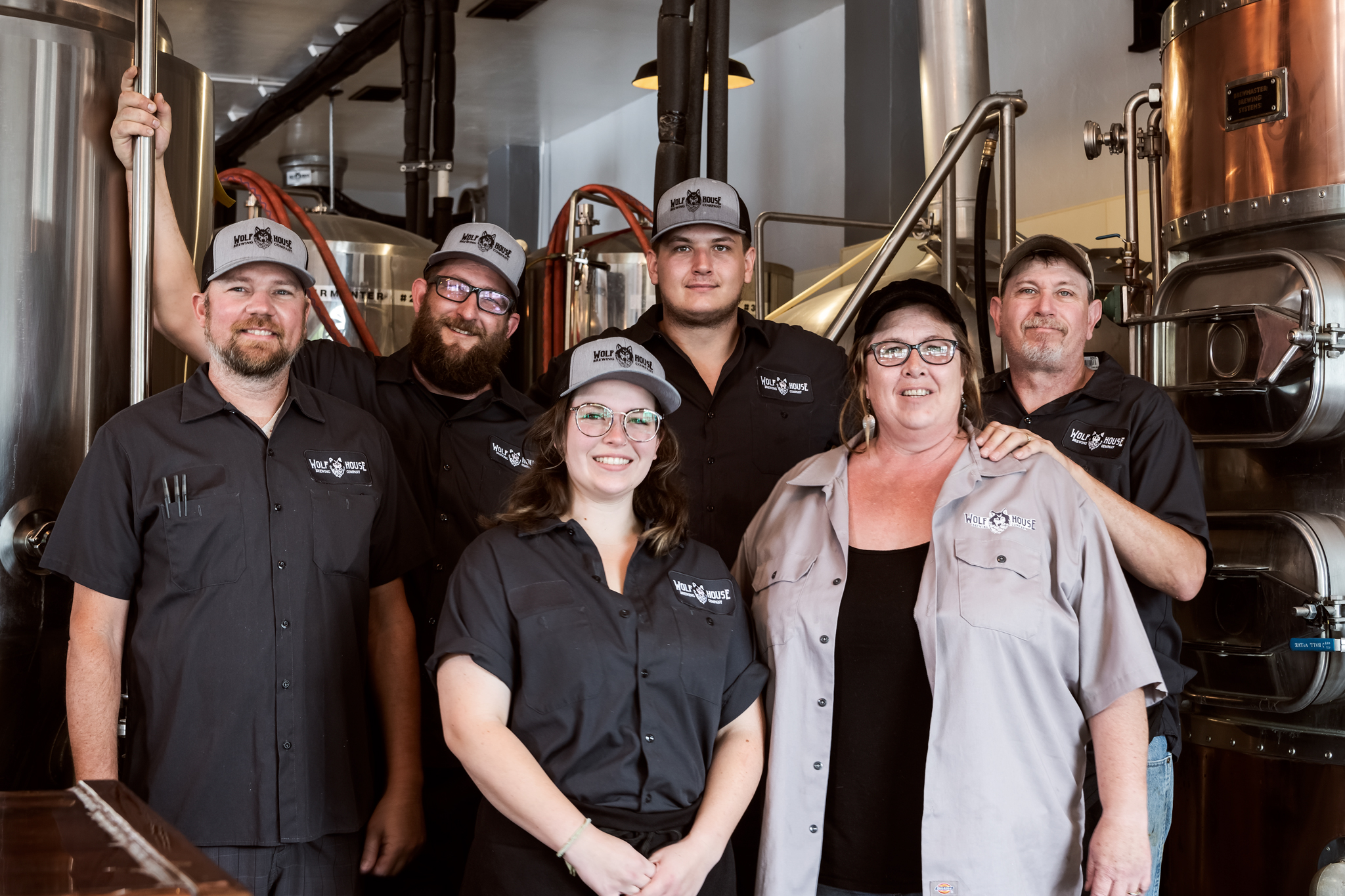 Wolf House Brewing Crew